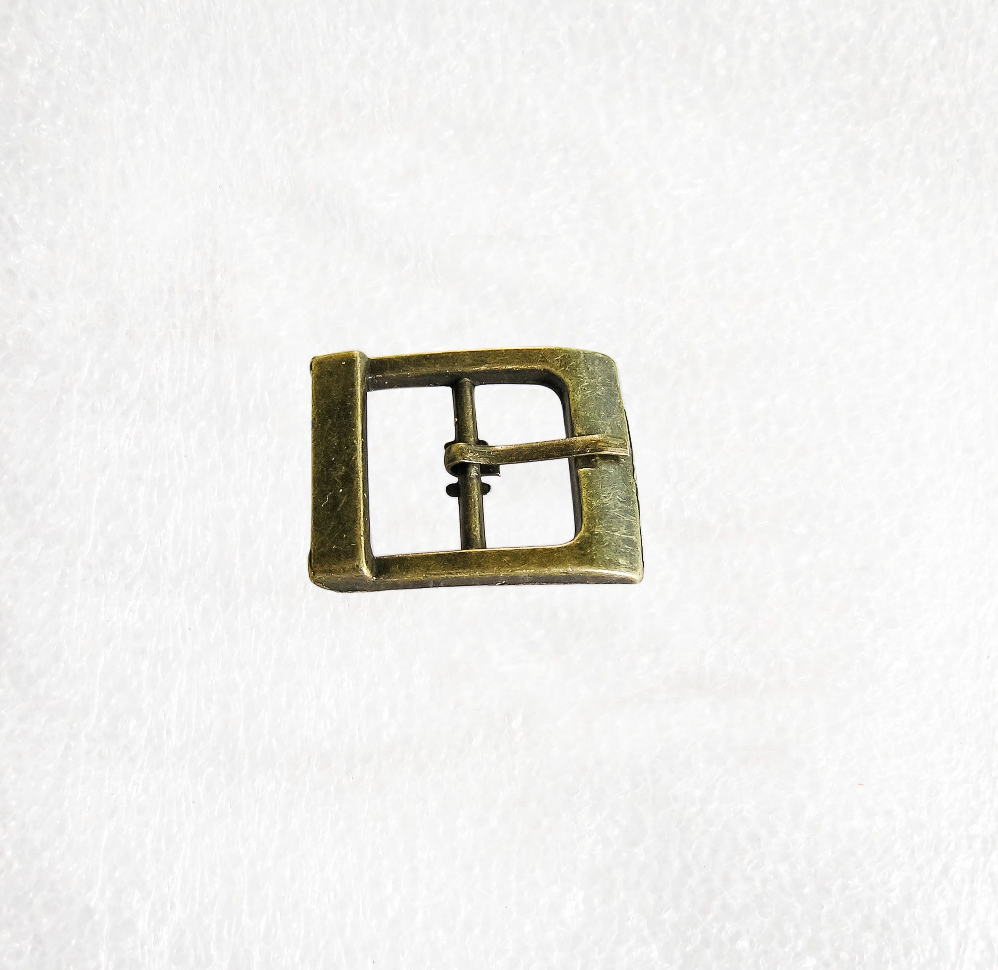 Brass Horse Shoe Buckle //Clasp 20mm