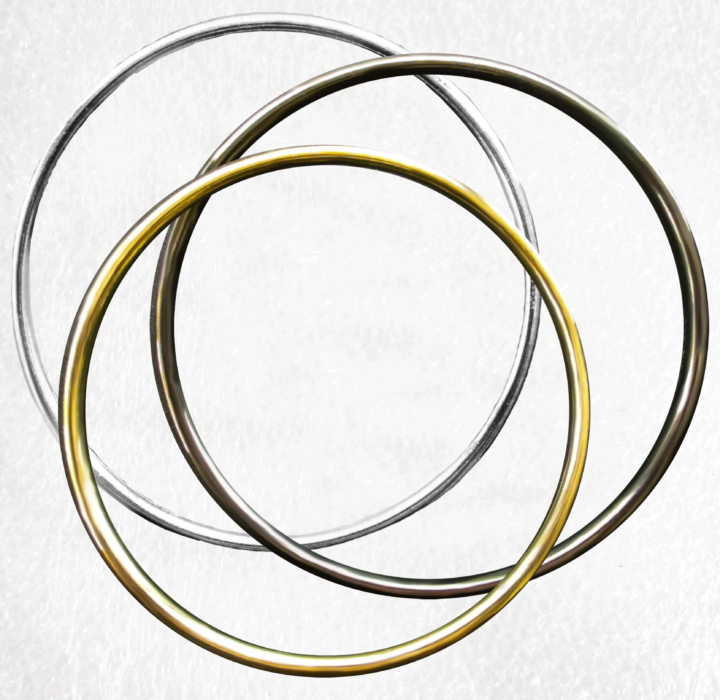 Large Solid O Rings 100mm