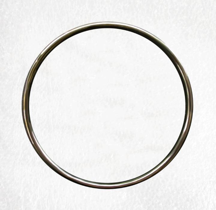 Gun Black 100mm Solid O Ring