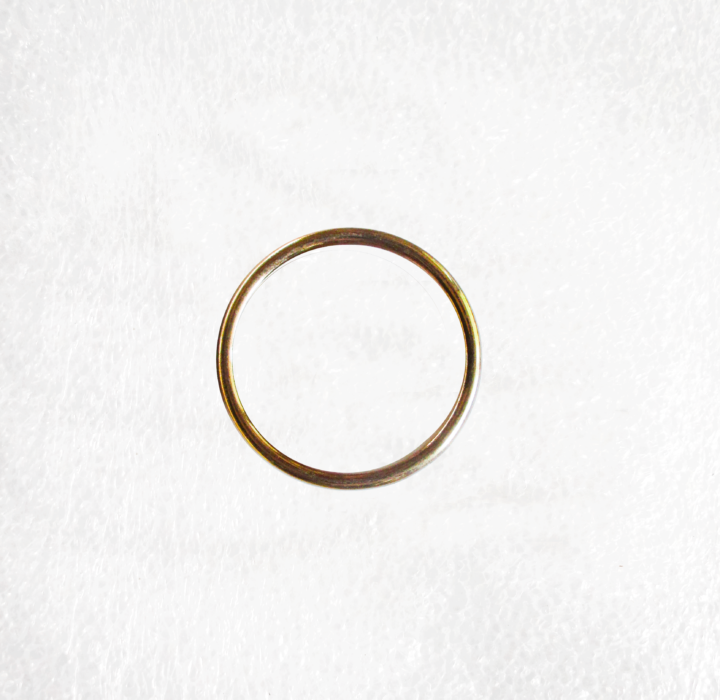 Solid Gold O Rings 40mm