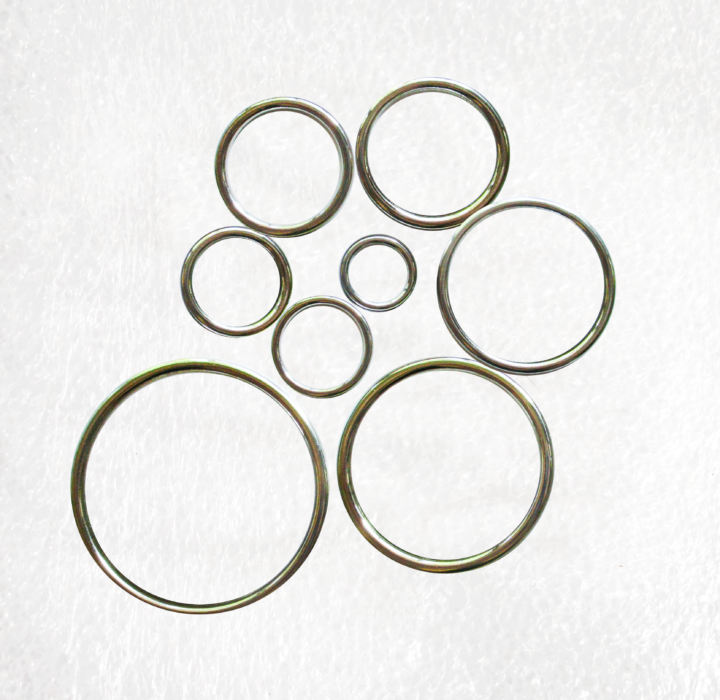 Solid Silver O Rings all sizes